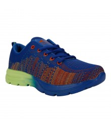 Vostro Blue Sports Shoes Flyknit for Men - VSS0271